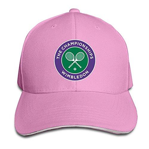 BOoottty 2016 Wimbledon Tennis Championships Flex Baseball Cap Pink