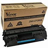 Compatible CF280A (80A) Toner Cartridge Fits HP LaserJet Pro 400 MFP M401 M425 Laser Printers V4INK®, Office Central