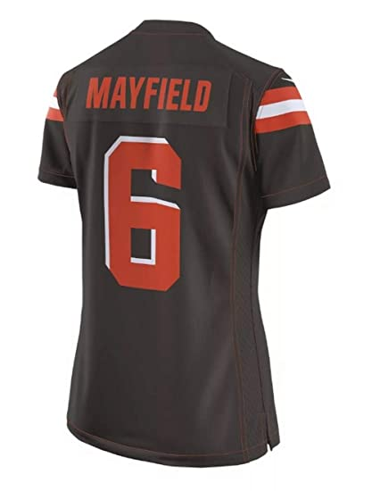 low priced 99dc7 c8e6b Amazon.com : Nike Women's Baker Mayfield Cleveland Browns ...