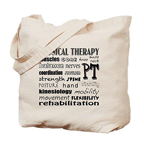 CafePress–de la terapia física Fun fuente–Gamuza de bolsa de lona bolsa, bolsa de la compra