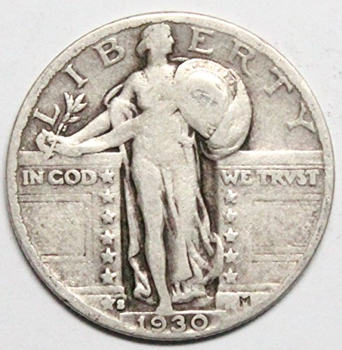 1930 S Standing Liberty Quarter Circulated