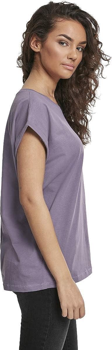Urban Classics Womens Ladies Extended Shoulder Tee T-Shirt