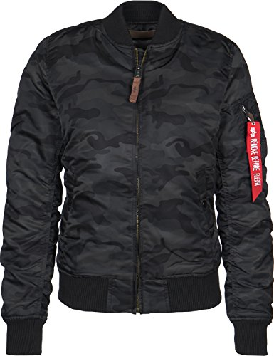 Jacket Bomber Women's Alpha Industries Camouflage qw1qxAt
