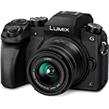 Panasonic LUMIX DMC-G7KK DSLM Mirrorless 4K Camera kit with 14-42 mm Lens and 32GB memory card(Black)