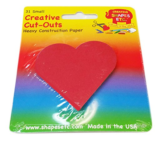 Heart Small Single Color Creative - Outs Heart Cut Shape
