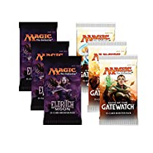 Magic the Gathering - 3x Eldritch Moon and 3x Oath of the Gatewatch - Booster Pack Bundle