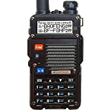 BF-F8HP (UV-5R 3rd Gen) 8-Watt Dual Band Two-Way Radio (136-174MHz VHF & 400-520MHz UHF) Includes Full Kit with Large Battery