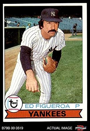 Amazoncom 1979 Burger King 11 Ed Figueroa New York Yankees