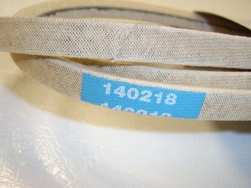 (Genuine OEM Craftsman, Poulan, Husqvara: 140218 Ground Drive Belt)