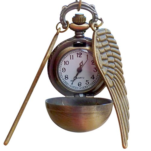 Legendary Flying ball necklace steampunk pocket watch gslw pgt