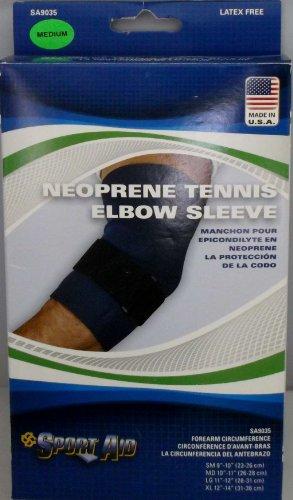 Tennis Elbow Sleeve Neoprene Medium 10