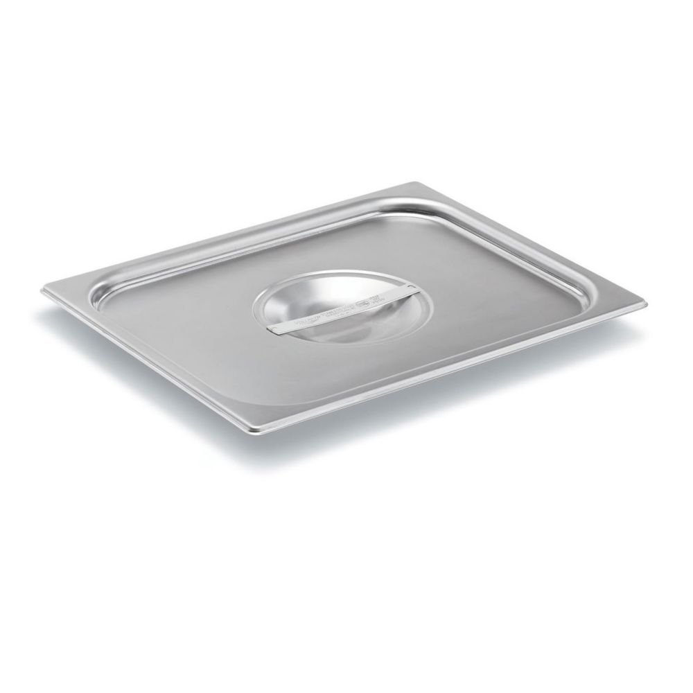 Vollrath (75120) Super Pan V Steam Table / Hotel Pan Cover (1/2 Size, Stainless Steel) by Vollrath