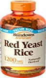 Sundown Naturals Red Yeast Rice 1200 Mg Capsules Value Size, 720 Count , Sundown-tgrf