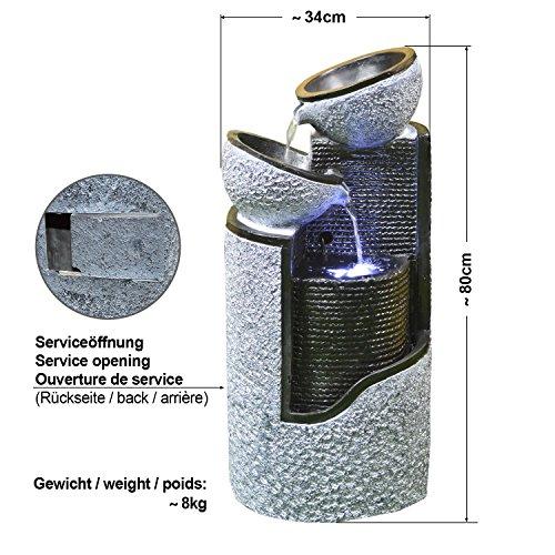 eur 14495 23 gartenbrunnen brunnen solar brunnen With französischer balkon mit solar wasserbrunnen garten