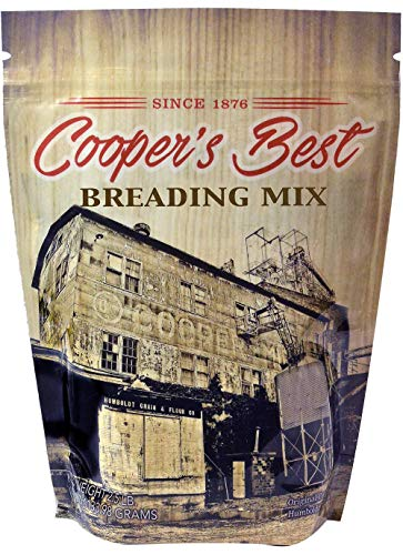 (Cooper's Best Breading Mix (2.5 LB Bag) - Based On Original 1876 Recipe - An Old Favorite Perfect for Any Time - Premium Milled Flour - Made in the USA - 28 Servings)