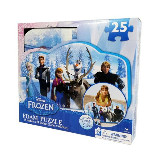 Frozen Foam Puzzle (25-Piece) Styles Will Vary ()