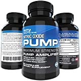 Nitric Oxide Pre Workout Booster for Accelerated Gains in Strength, Size, Pump Intensifier and Post-workout Muscle Recovery