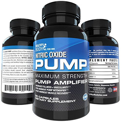 Nitric Oxide Pre Workout Booster for Accelerated Gains in St