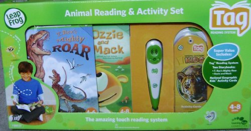 Leap Frog TAG System Animal Reading & Activity Set - Value Pack by Leapfrog Tag