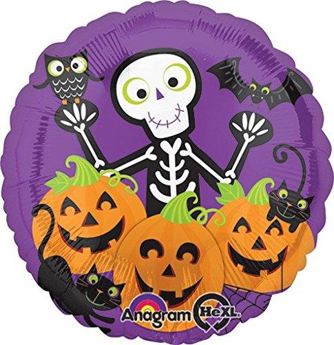 Halloween Skully & Friends - 5 Pieces]()