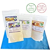 Low Carb Keto Bread Mix | Multi Grain Bread Mix + Gluten Free Breading & Crusting Mix + Thick n Saucy + Konjac Glucomannan by LC Foods | Diet Protein Food | Keto Baking Foods