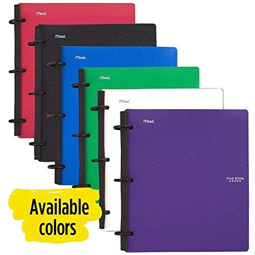 five star flex hybrid notebinder 1 inch binder notebook and