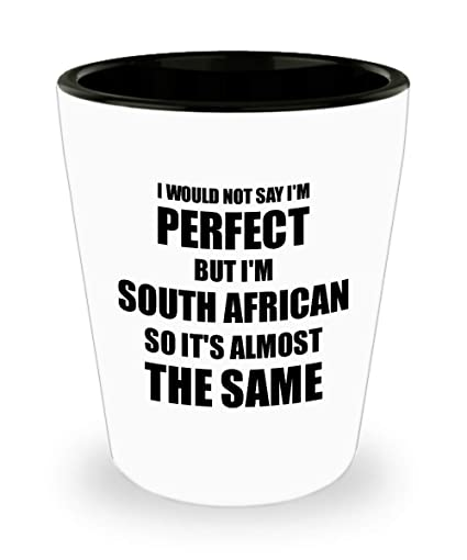 Amazoncom South African Shot Glass Funny South Africa