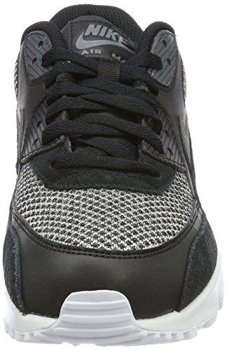 Nike Herren Air Max 90 Essential Laufschuh Schwarz / Dunkelgrau / Chrom