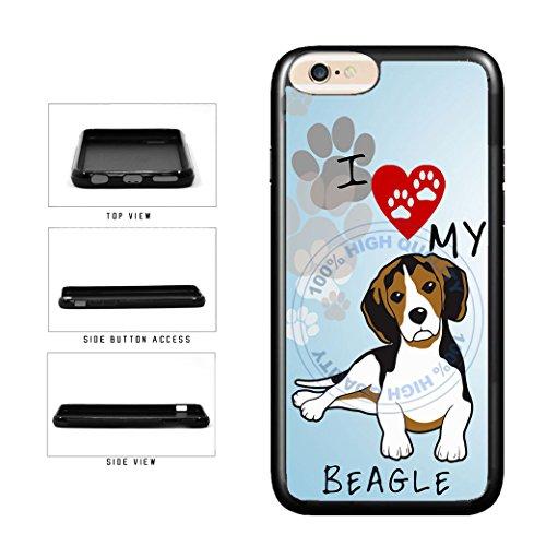 BleuReign I Love My Beagle Dog Lover TPU RUBBER SILICONE Pho