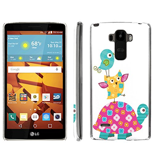[ArmorXtreme] Phone Case for LG G Stylo LS770 / LG G4 Note Stylus / LG G Stylo H631 / MS631 [Clear] [Ultra Slim Cover Case] - [Turtle Birds] -  ArmorXtreme for LG G Stylo H631