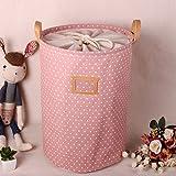ALLTOP premium cartoon foldable cotton line Wäschekorb Klapp Kinder Spielzeug organizer Spielzeug...