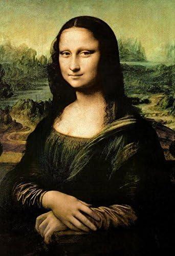 Leonardo Da Vinci Mona Lisa Vintage Print