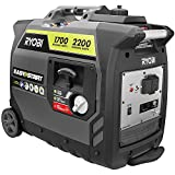 Ryobi Digital Inverter Generator (2,200-Watt Gray RYi2200GR) For Sale