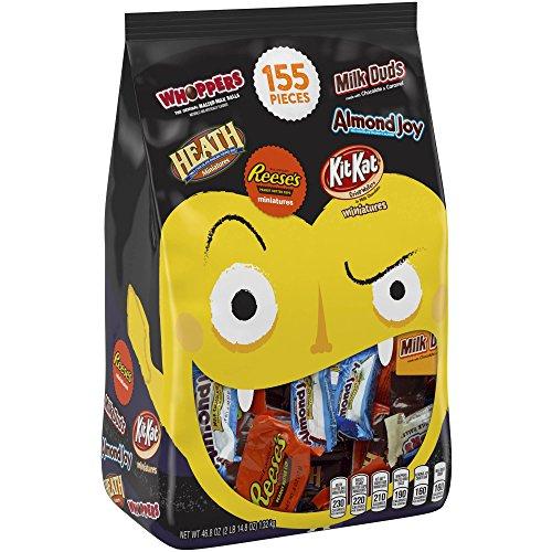 Review Hershey's Halloween Assortment Goodies