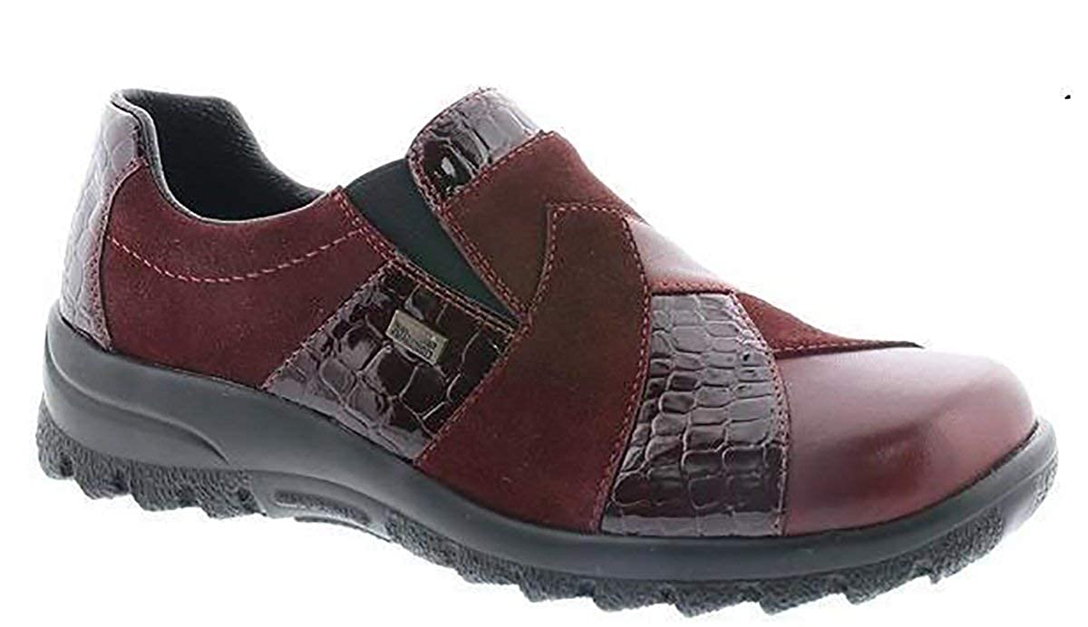 Rieker, A Collo Basso Basso Basso Donna Red/Burgundy 96fa49