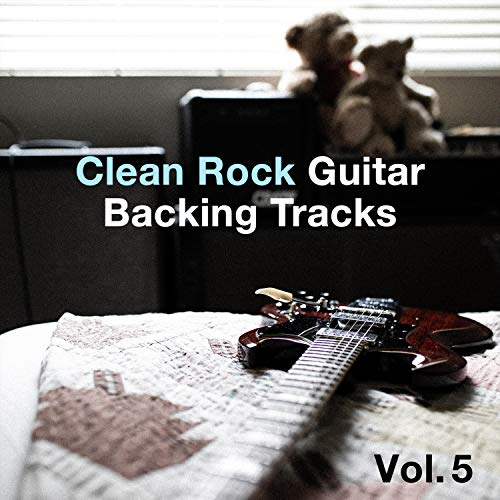 Clean Rock Guitar Backing Tracks, Vol. 5
