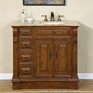 bathroom vanity with off center sink 38 quot single bathroom vanity center right sink 904 25008