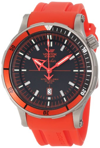 Vostok-Europe Men's NH35A/5107171 Anchar Titanium Case Diver Watch