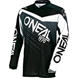 O'Neal 0008-105 Mens Element Racewear Jersey (Black/Gray, X-Large)