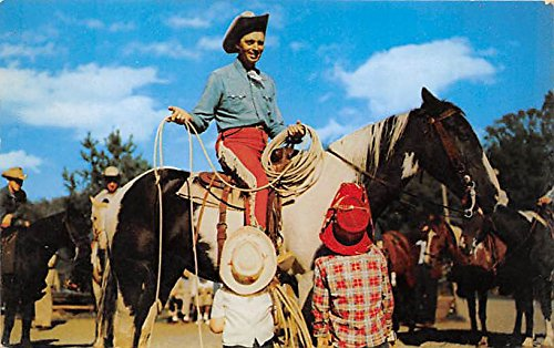 rodeo-foreman-dic-sharp-twirl-a-lariat-frontier-town-lake-george-new-york-ny-usa-postcard-post-card