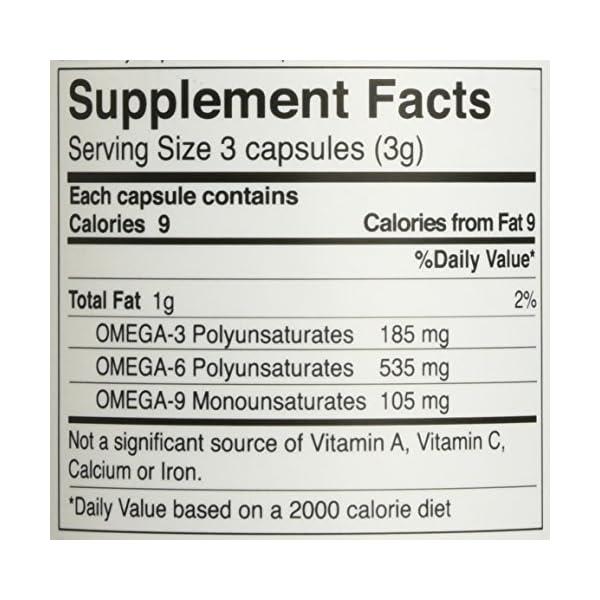 Manitoba Harvest Hemp Foods Hemp Oil Soft Gels, 1,000 mg, 60 Count