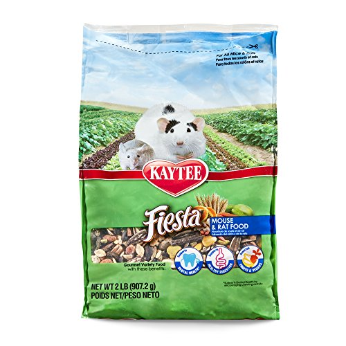 Kaytee Fiesta Mouse And Rat Food, 2-Lb Bag ()