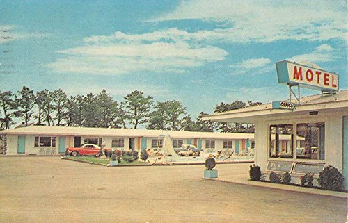 Bass River Massachusetts Brentwood Motel Street View Vintage Postcard - Brentwood Of Streets The