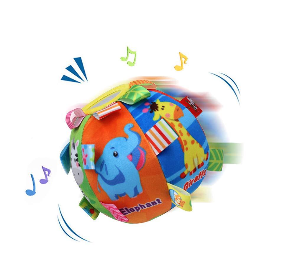 【国内発送】 動物認知ボール ベビーハンドキャッチボール おもちゃのボール ラトルボール ラトルボール ララララブ 遊び マルチカラー 感覚ボール マルチカラー ララララブ B07NSWZMNT, family家具:94251d2f --- svecha37.ru