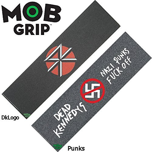 【MOB GRIP】モブグリップ Dead Kennedys/デッキテープ グリップテープ スケートボード スケボー/9×33インチ