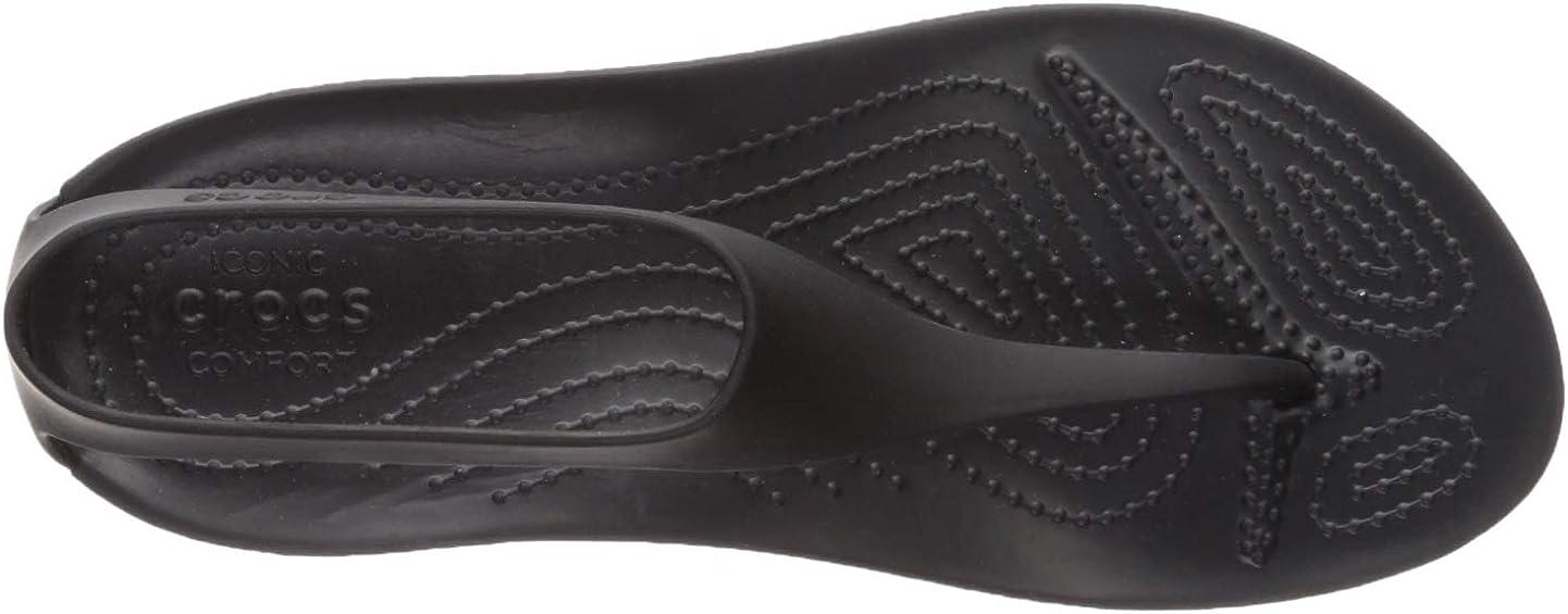 crocs Damen W Serena Flip 205468-060 Plateau