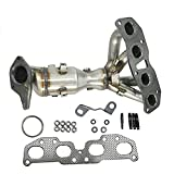 674-933 New Exhaust Manifold Catalytic Converter Fit 2007-2012 Nissan Altima 2.5L with Hardware (OE Replace:14002-JA91E)