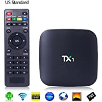 TX1 Quad-Core Android 4.4.2 OS Amlogic S805 Cortex-A5 1GB + 8GB TV Box Player with WiFi