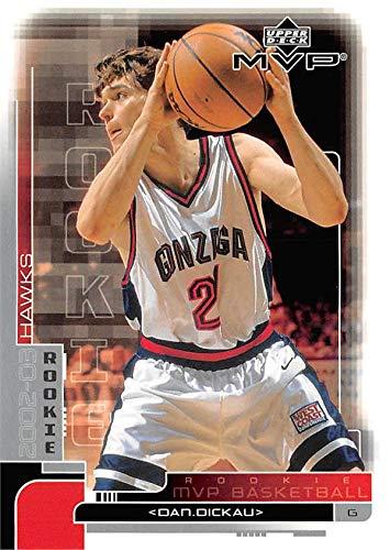 Dan Dickau basketball card (Gonzaga Bulldogs) 2002 Upper Deck Rookie #205