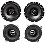 Package: Alpine Sps-610 6.5'' 2 Way Pair of Coaxial Car Speakers + Alpine Sps-510 5.25'' 2 Way Pair of Car Speakers